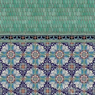Romanesco 4 Terra Nova Hacienda Ceramic Tile Ceramic Decor Decorative Ceramic Tile Ceramic Tiles