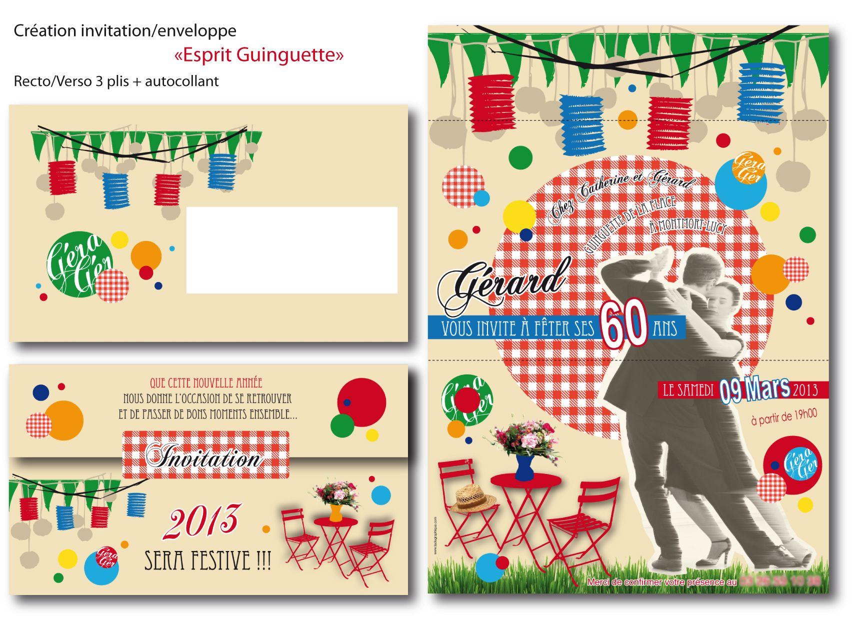 Invitation-guinguette.jpg (1704×1240) | Guinguette, Invitation anniversaire, Invitation