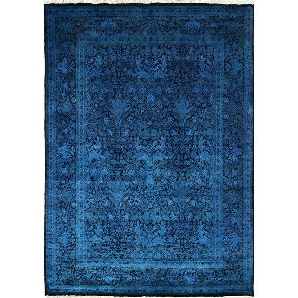 Linden 6x8'5 Blue Rug By NuLOOM