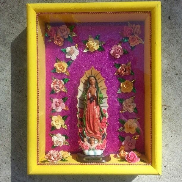 33107814ba8 Nicho-Virgen de Guadalupe