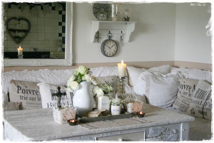 wohnzimmer shabby chic braun. wohnwand shabby home design ideas ... - Wohnzimmer Shabby Chic Braun