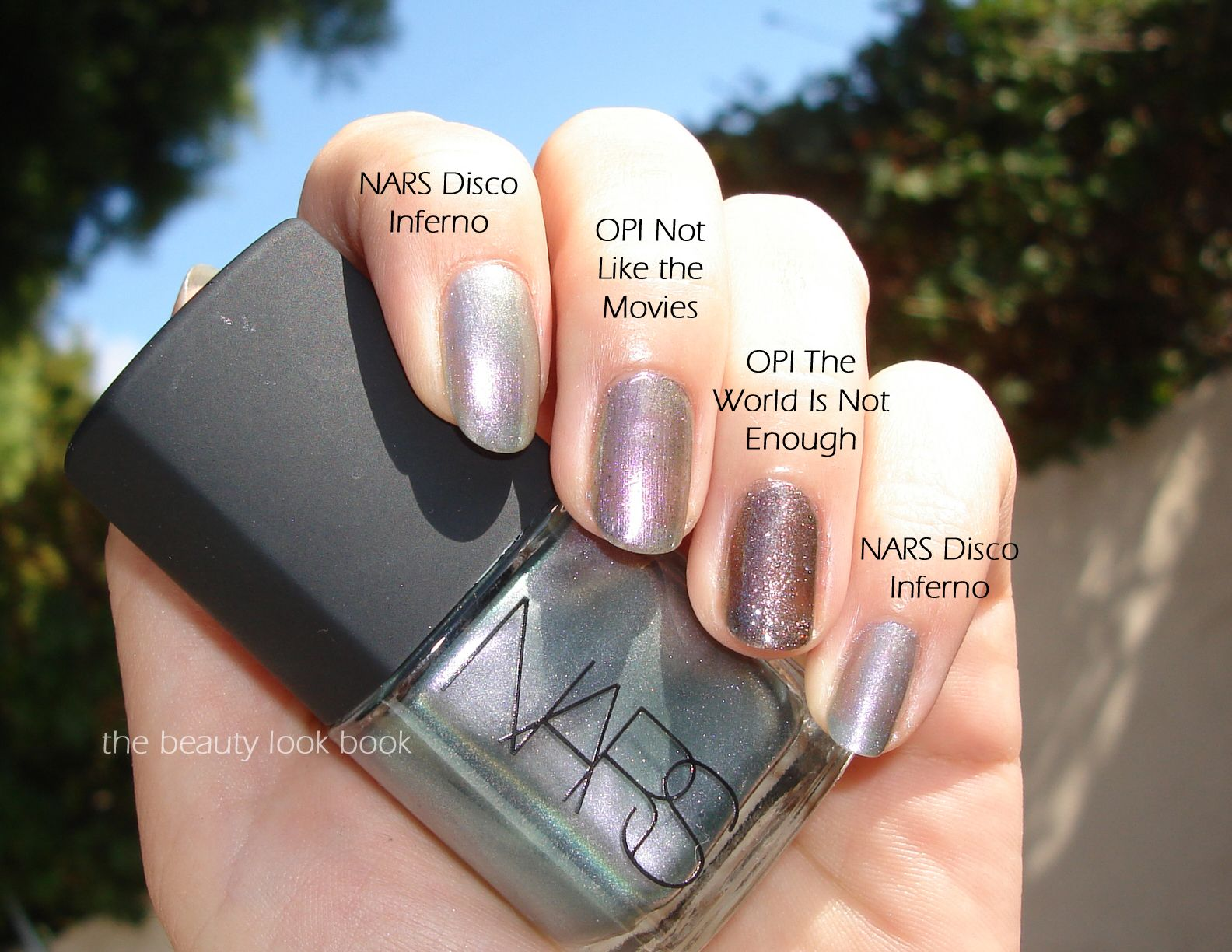 The Beauty Look Book: NARS Disco Inferno Nail Polish - Spring 2013 ...