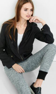 black military jacket from EXPRESS