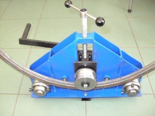 Bench Mounted Ring Roller   Flat Bar/ Tube/ Pipe/ Profile Bender  Quick