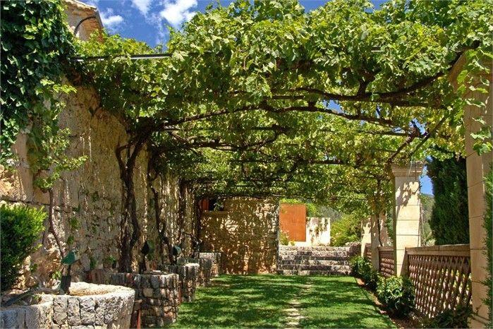 Estilo rustico los mejores patios rusticos jardines y - Jardines rusticos pequenos ...