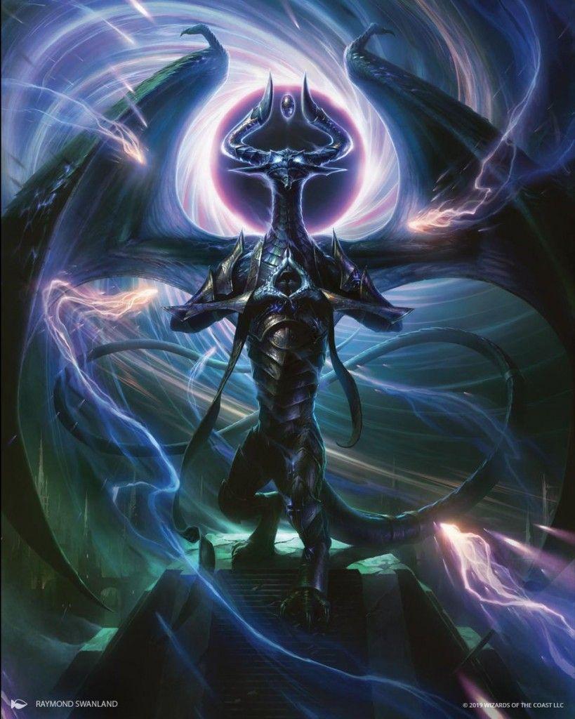 Nicol Bolas Dragon God Mtg Art Magic Art Fantasy Dragon