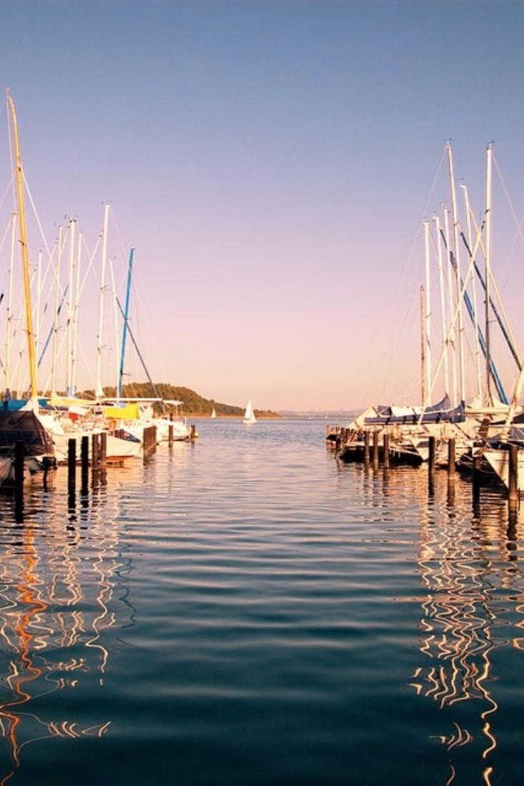 Port of Lake Chiemsee, Germany #chiemsee #travelcircus #germany