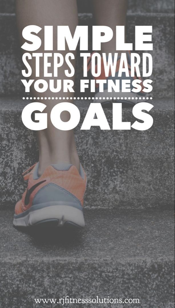 #fitness #simple #toward #steps #goals #yourSimple Steps Toward Your Fitness Goals  Abs Goals! |  Au...
