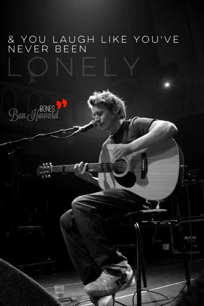 Add Text Artwork To Your Photos Ben Howard Music Music Is Life