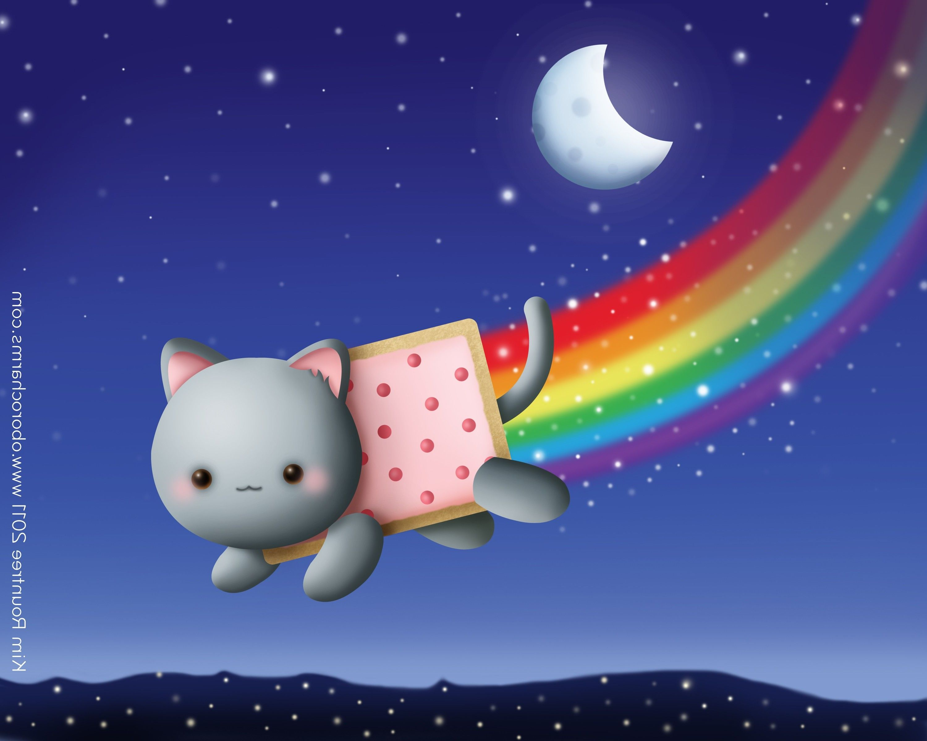 Nyan Cat Video Wallpaper and Video Ringtone for iPhone