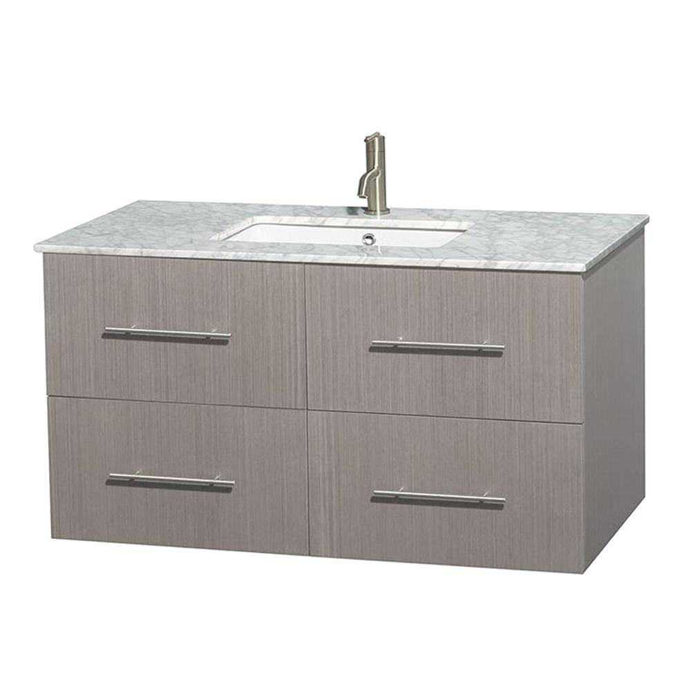 Wyndham Collection Centra 42 In Vanity
