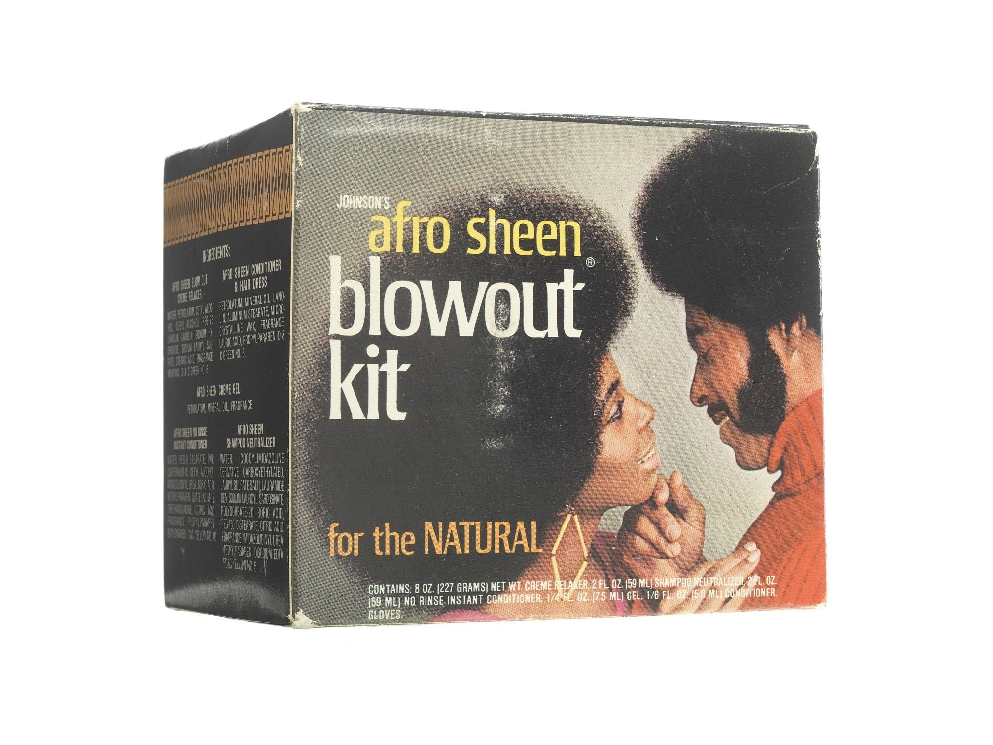 Afro sheen blowout kit in 2020 johnson johnson and