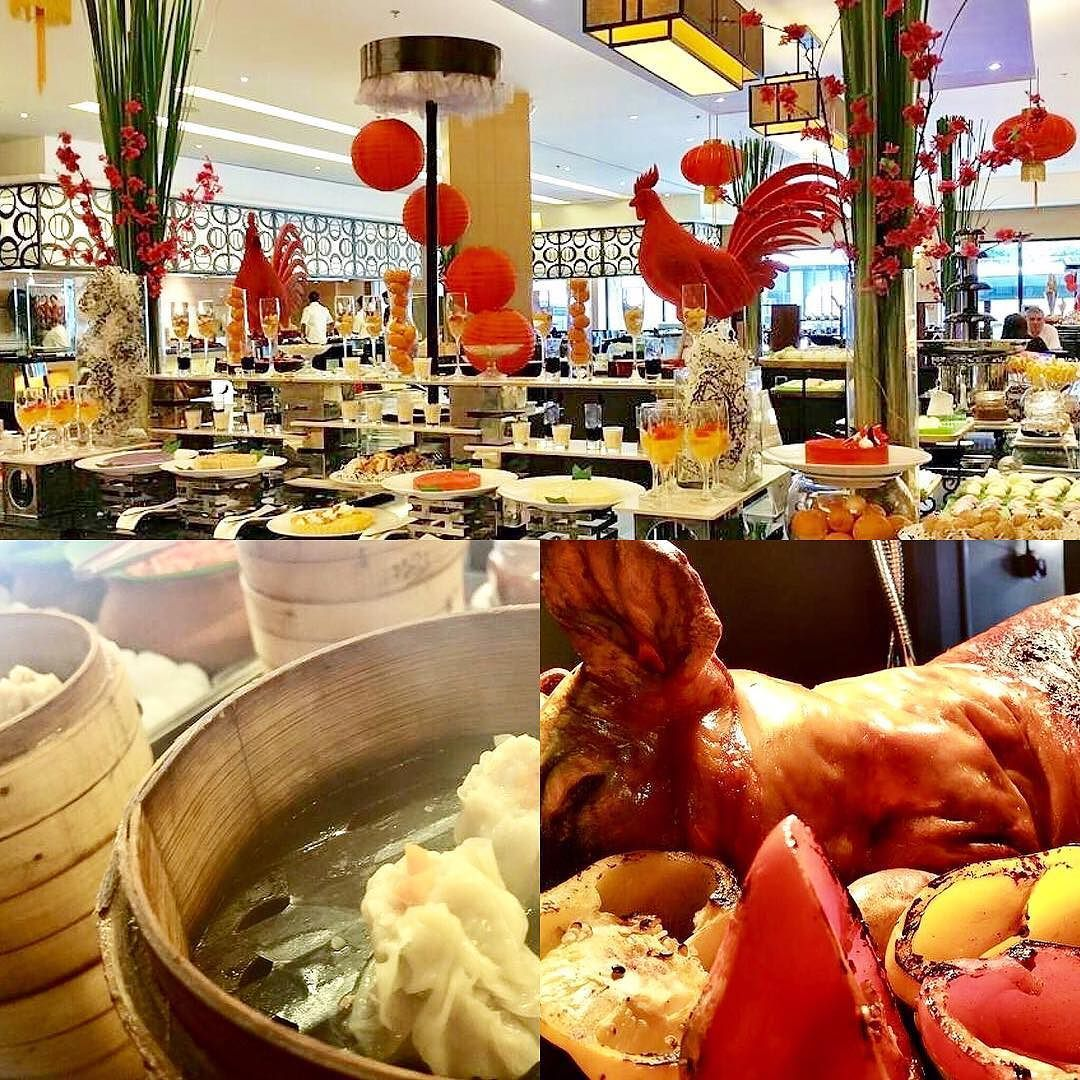 A hearty #gongxifacai #kungheifatchoi to everyone from the heart! Join us today and tomorrow at @pusobistro for lunch and dinner buffets fit for an emperor! #lechon #dimsum #chinesenewyear #whenincebu #pusobistro #buffet #hotel #cebu