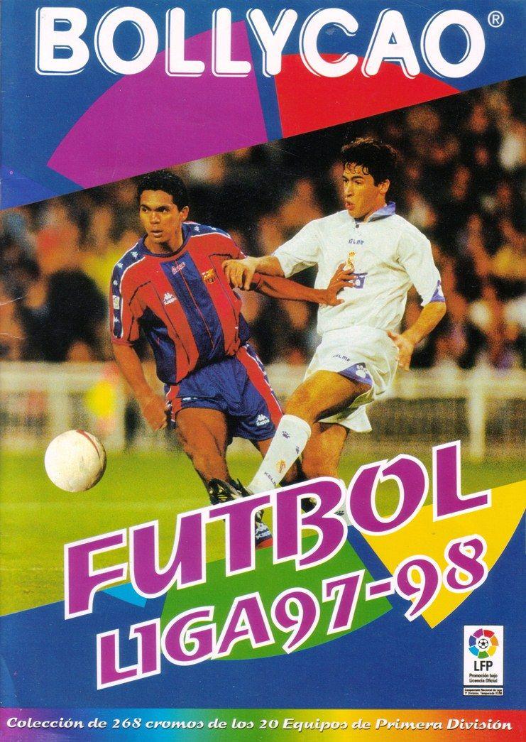 Bollycao Futbol Liga 199798. Spanish sticker album