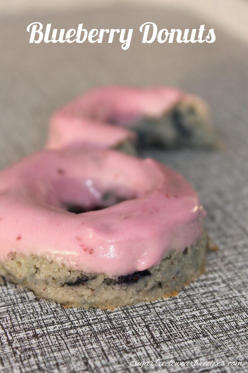 Blueberry Cake Donuts – Gluten Free