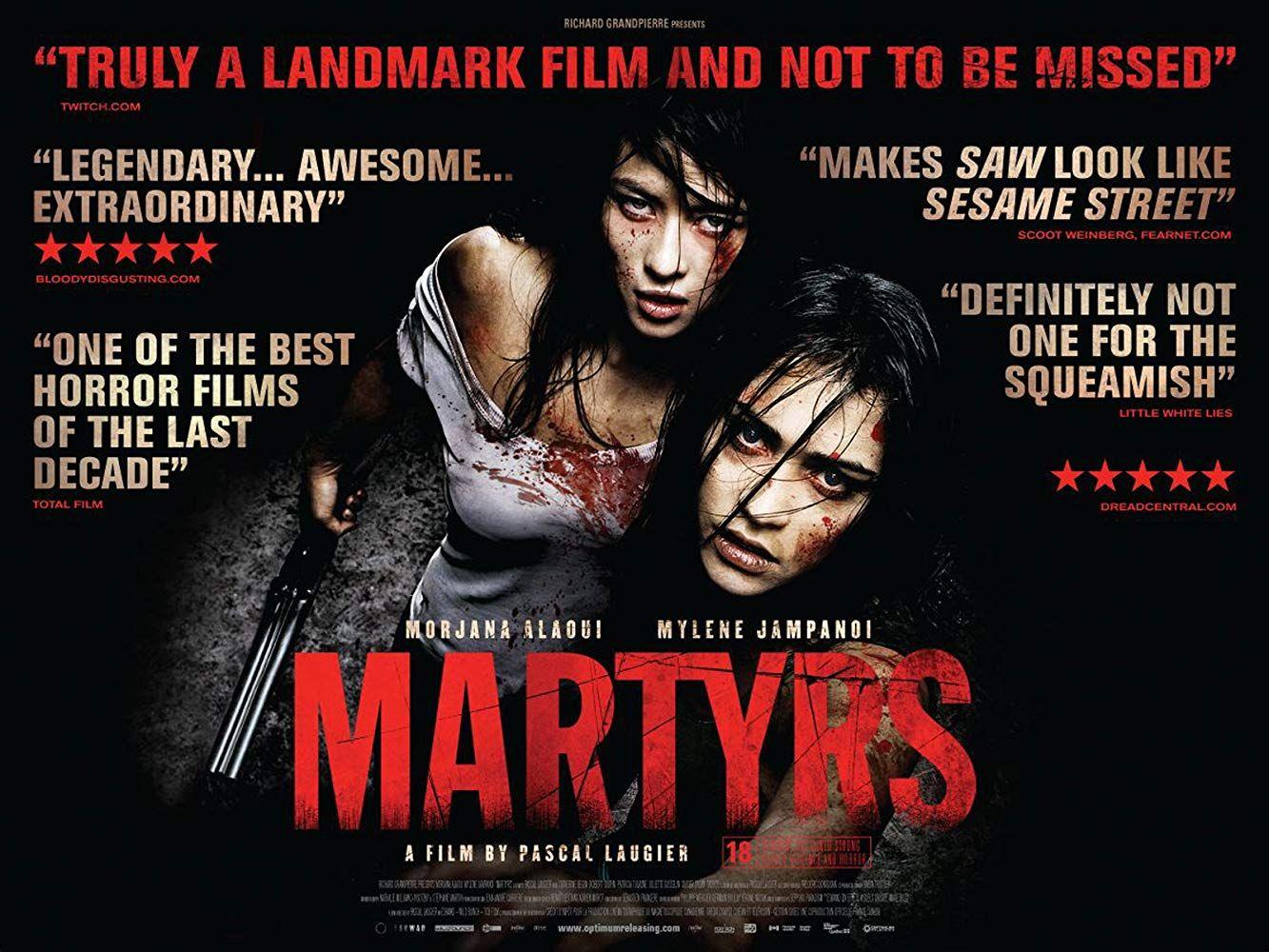 Mártires 2008 Una Película Brutal De Culto Horror Movies Scariest Horror Movies Scary Movies