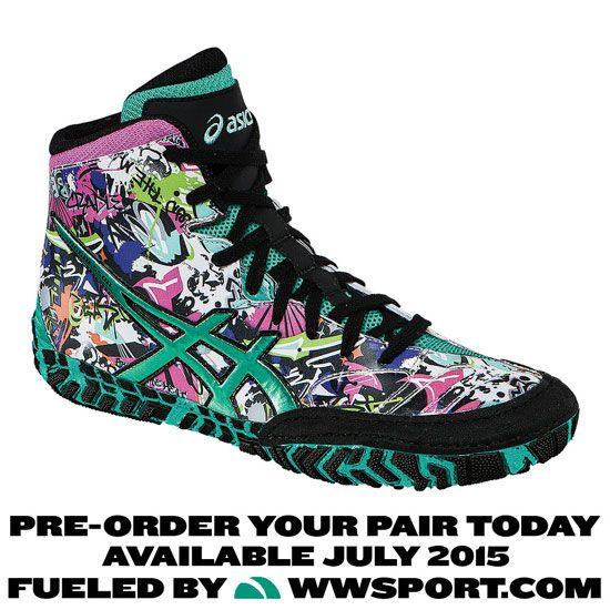 ASICS Aggressor 2 LE Graffiti Wrestling Shoe | Wrestling Footwear ...