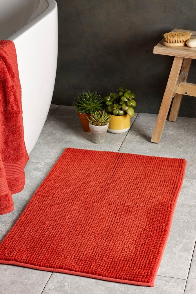 Next Bobble Bath Mat Orange Bath Mat Bathroom Themes Bobble