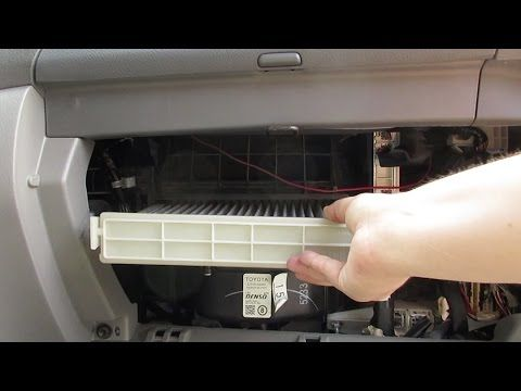 Cabin Air Filter Replacement Toyota Sienna Cabin Air Filter Cabin Filter Toyota Sienna