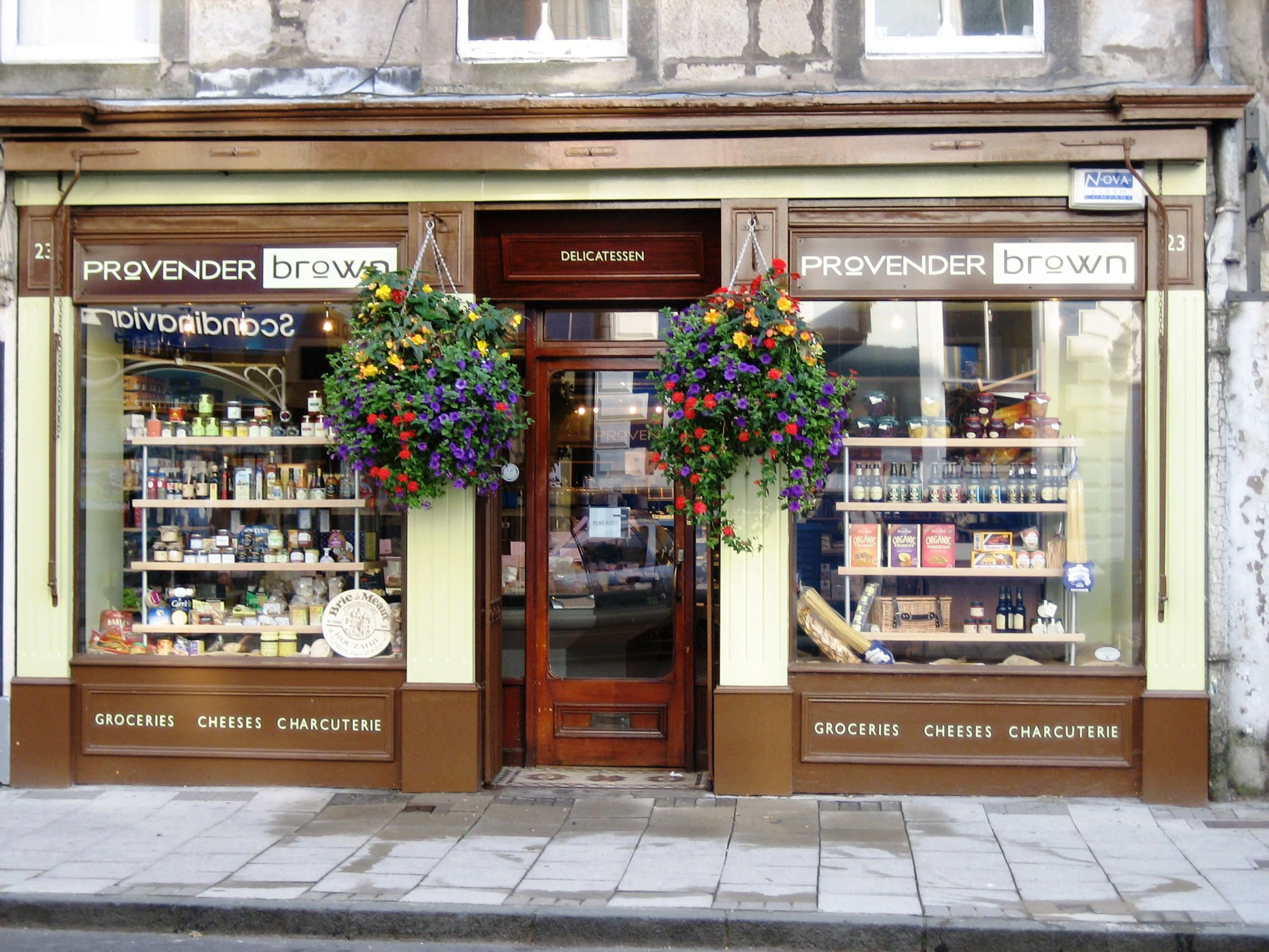 A wonderful gourmet deli tucked away on a quiet street in