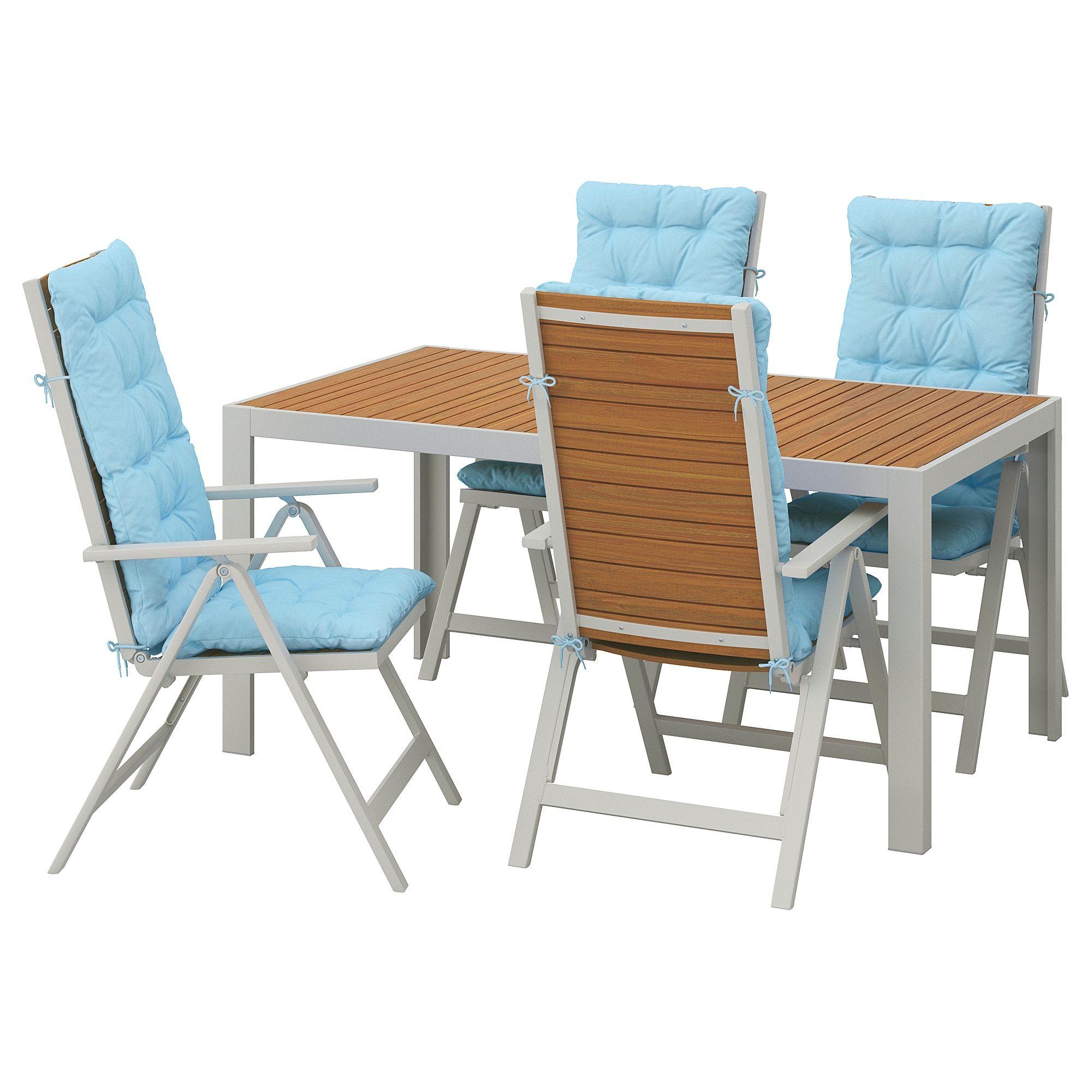 Pleasing Ikea Sjalland Light Brown Kuddarna Light Blue Table 4 Unemploymentrelief Wooden Chair Designs For Living Room Unemploymentrelieforg
