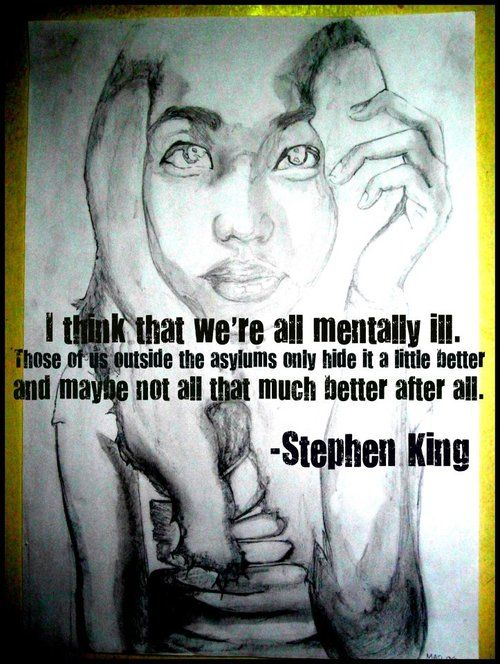 """like my mom says, """"you can never know the mental health of ..."""