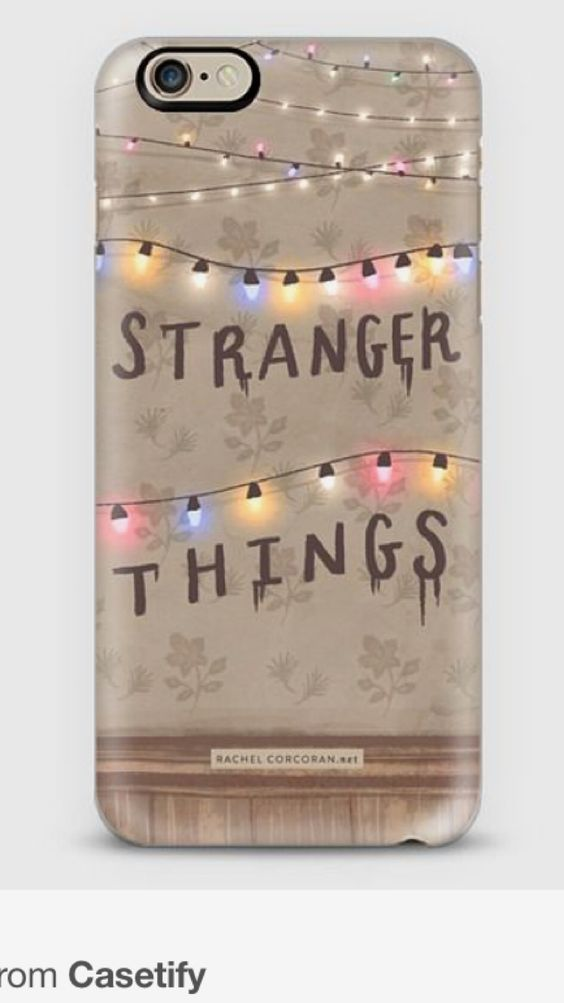 Pin by Pria May on Phone cases   Stranger things phone case ...