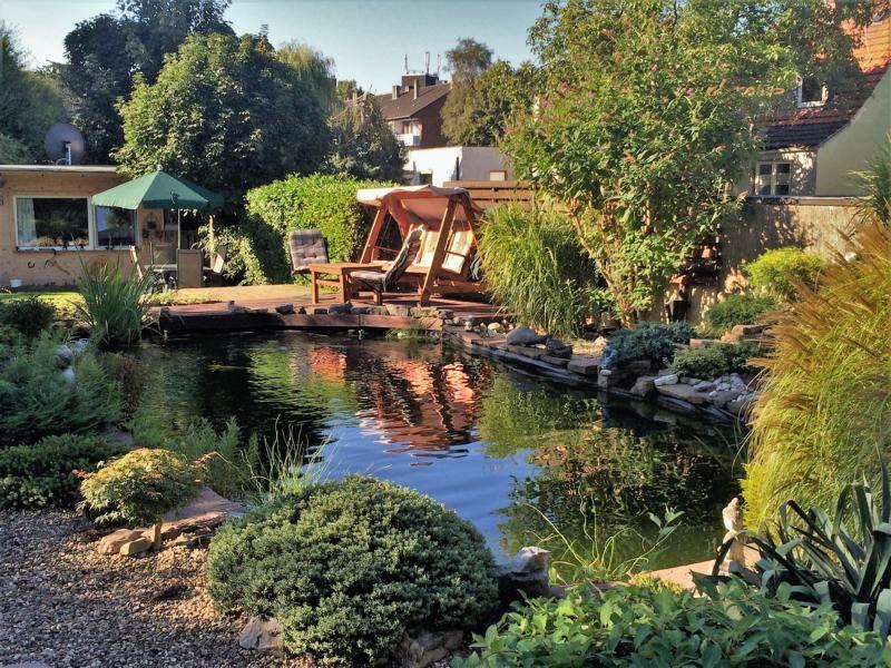 Unser Koi/Schwimmteich mit Bachlauf und Wasserfall Bauanleitung