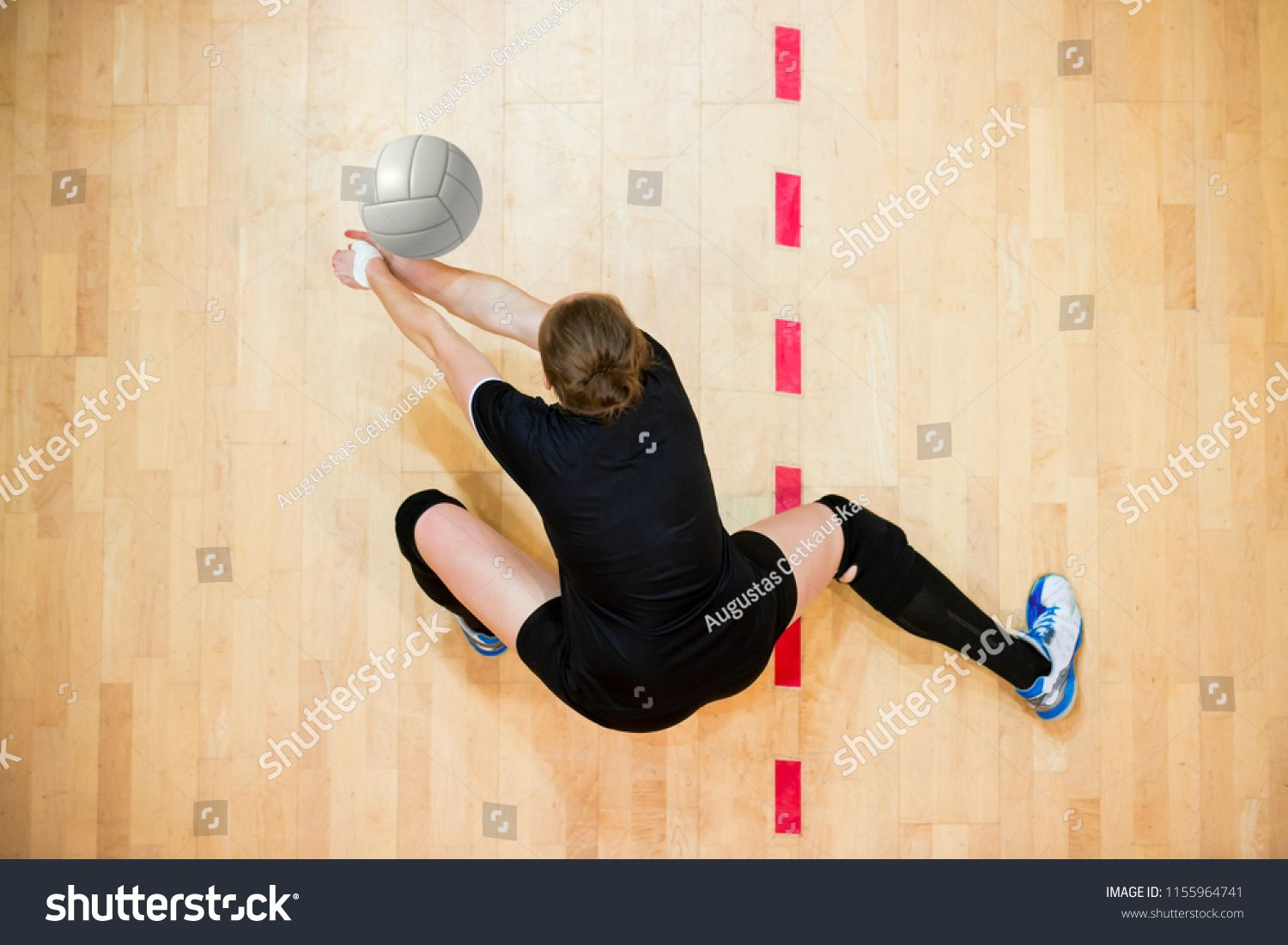 Upper View Of Female Volleyball Player At Service Ad Sponsored Female View Upper Service Female Volleyball Players Volleyball Players Players