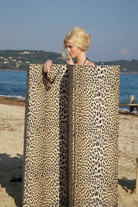 Love style hair leopard