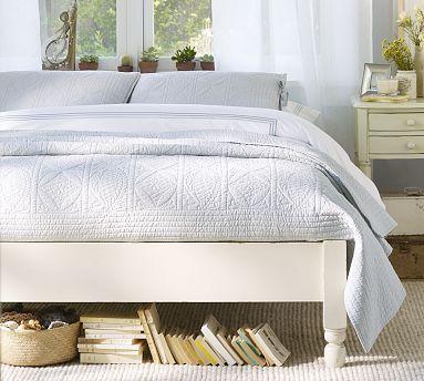 Addison Platform Bed White Platform Bed Platform Bed Bed Frame