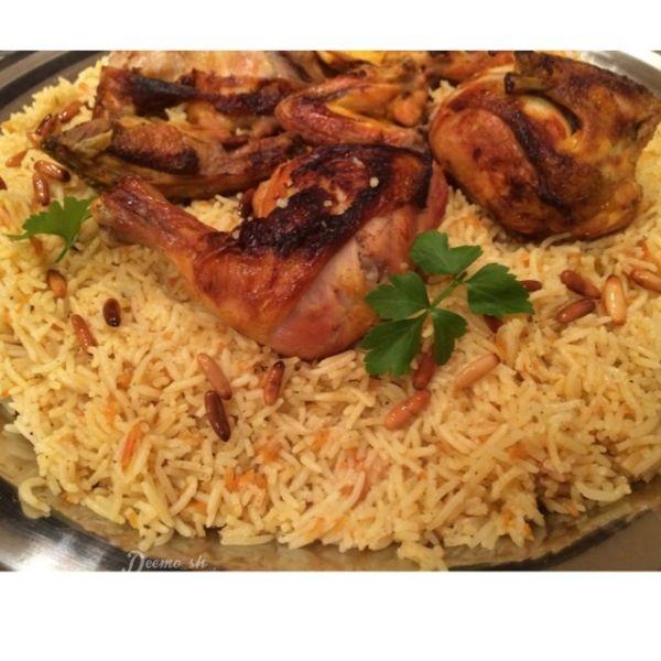 رز بخاري بالدجاج أضيفت بواسطة ديمه عبدالله الأطباق الرئيسية Recipes Food Cooking