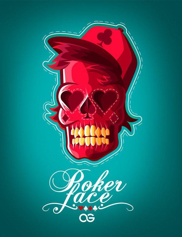 Poker face by AndresThePhoenix http://www.creativeboysclub.com/