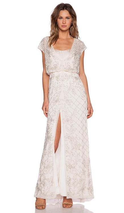Needle & Thread Aura Sequin Maxi Dress in Antique Rose | REVOLVE ...