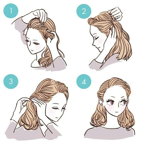 Simple Diy Hairstyles Everyday: Pin By Alive._.dream On Причёски