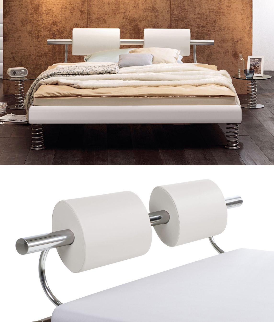 Bett weiss modern  Designerbett in vielen verschiedenen Farben. Exklusiv sind die ...