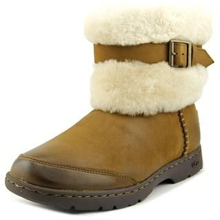 Ugg Australia Women's Brielle Brown Leather Boots | Overstock.com Shopping - The…