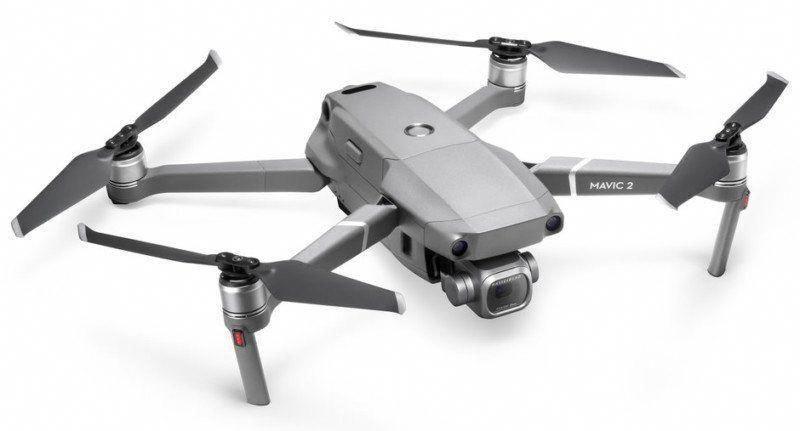 Dji Unveils The Mavic 2 Pro And Mavic 2 Zoom Drones Mavicprodjihacks Mavicprodjiimagesandtips Drone Camera Dji Drone Professional Drone