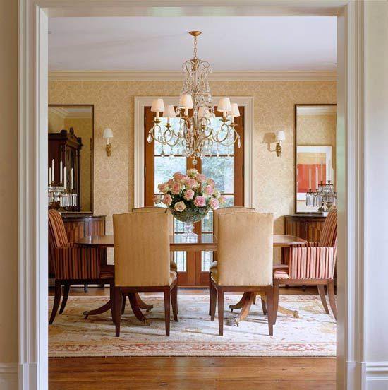Comfortable Elegance Meredith Vieira S Home Craftsman Dining