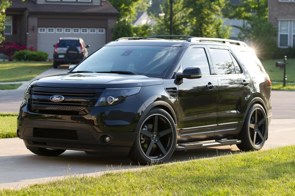 Wheel spaced Ford explorer accessories, 2014 ford
