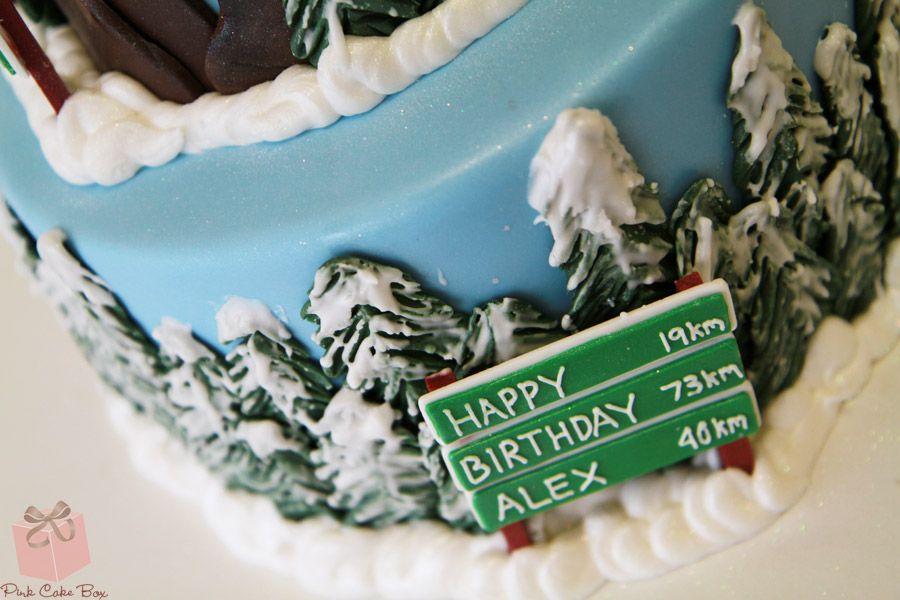 40th birthday snowmobile cake birthday cakes cake