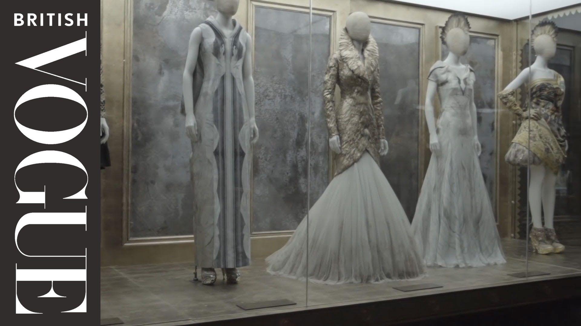 Inside alexander mcqueen savage beauty british vogue fashion