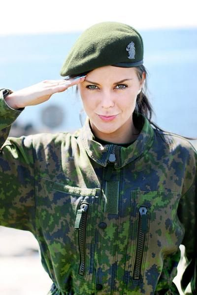 Hot women in army