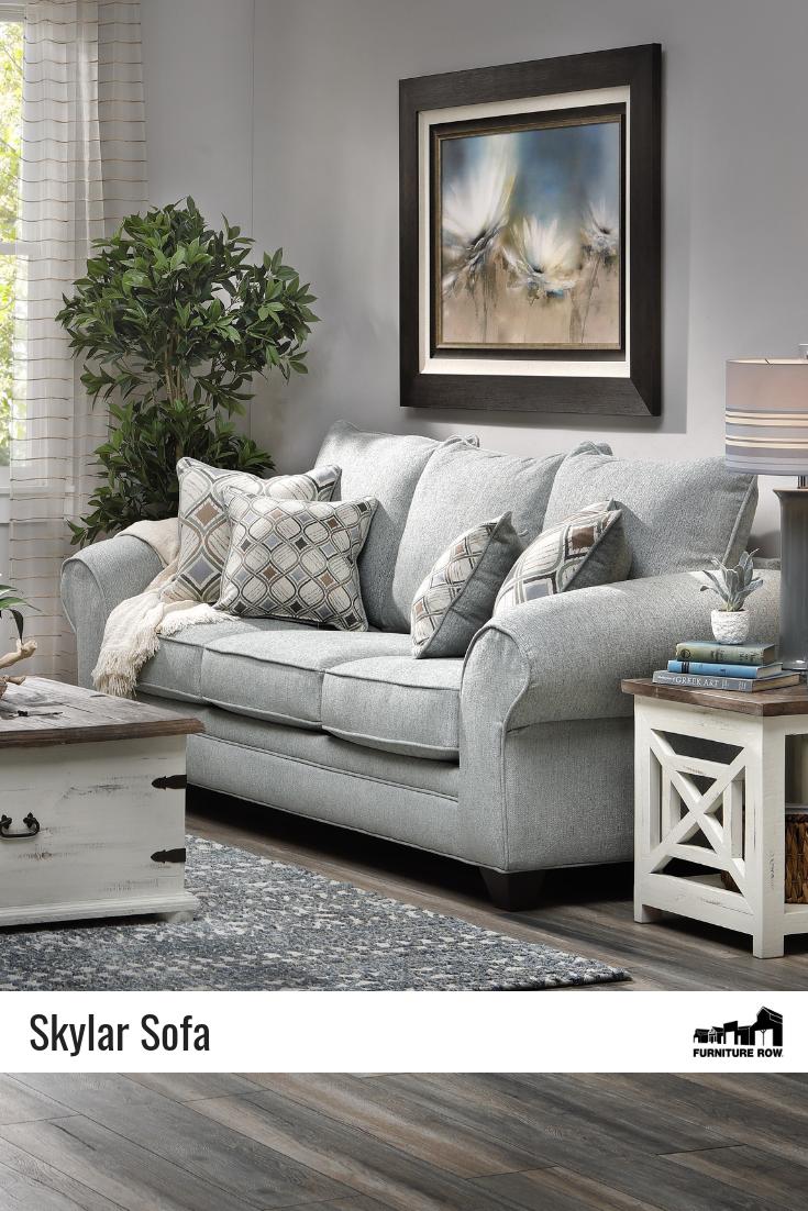 Skylar Sofa Rowe Furniture Sofa Shiplap Living Room