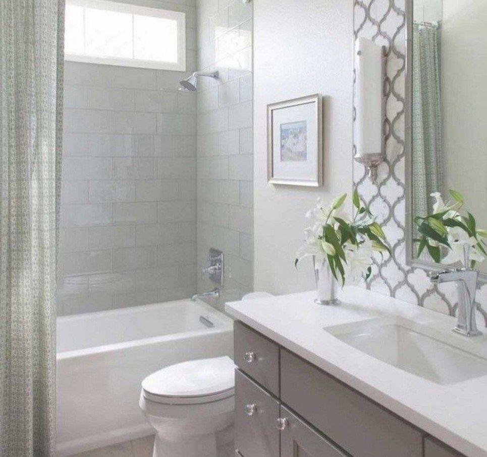 50 Impressive Bathroom Shower Remodel Ideas Decoomo Com In 2020 Small Bathroom Tiles Bathroom Tub Shower Bathroom Design Small