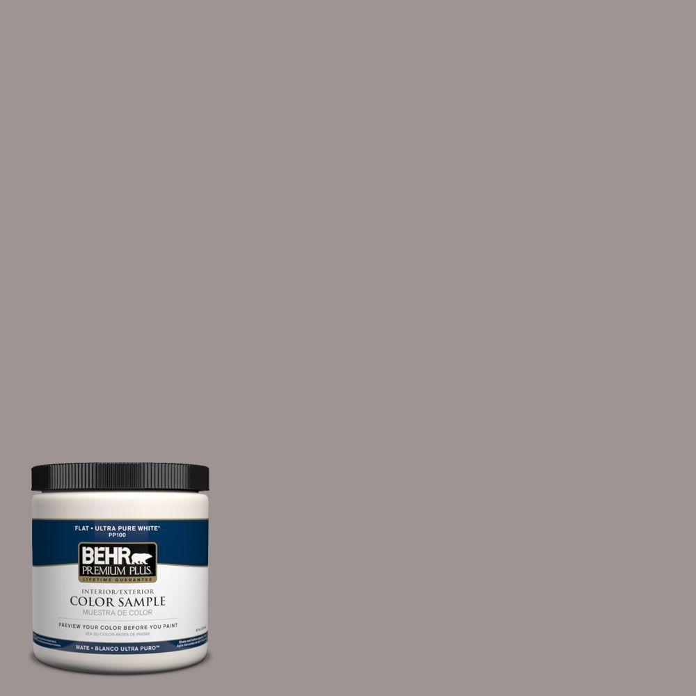 Behr Premium Plus 8 Oz 790b 4 Puddle Interior Exterior Paint Sample 790b 4pp At The Home Depot Behr Premium Plus Ultra Exterior Paint Paint Samples