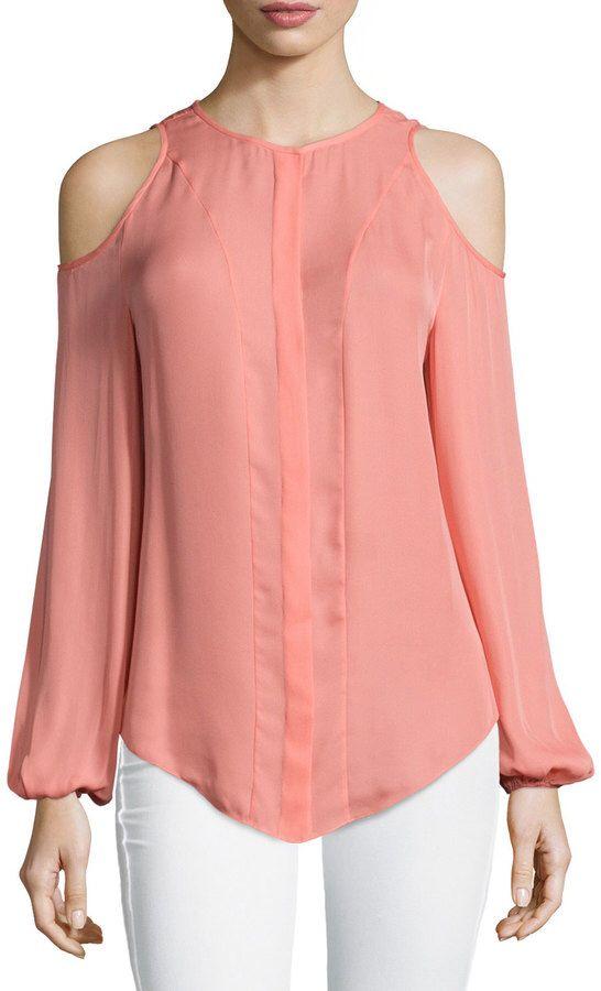 720a56ce10a5 Blusa hombros descubiertos | moda en 2019 | Blusas de moda, Blusas y ...