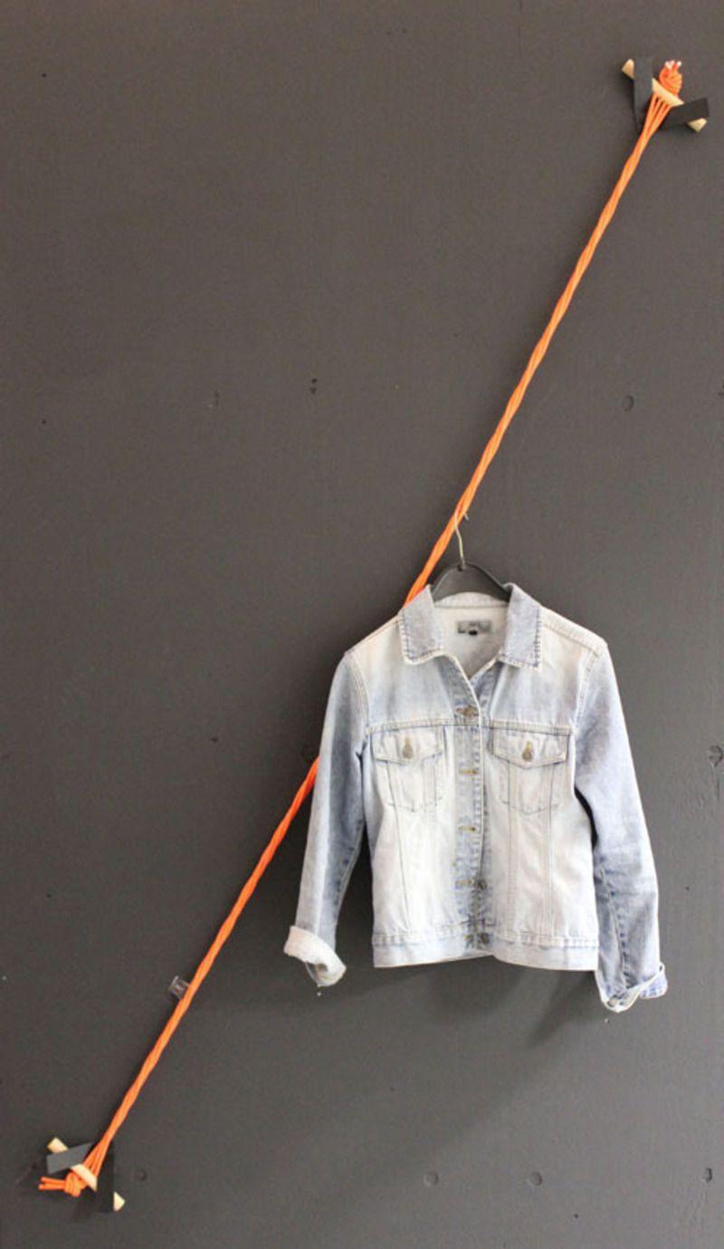 360  Aufbewahrung als Seil-Garderobe | CORRIDOR | Pinterest ...