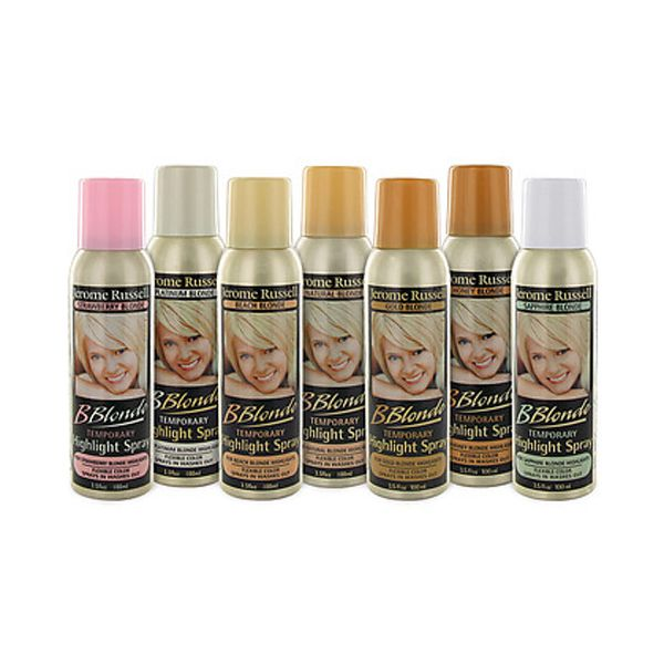 Jerome Russell B Blonde Temporary Highlight Spray All Things Hair