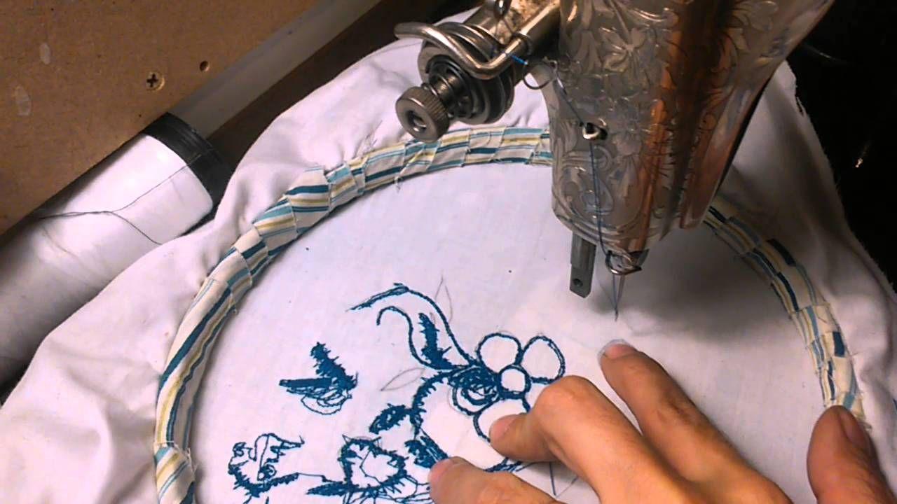 Curso De Bordado En Maquina De Coser Escuela De Costuras Como Bordar A Maquina Como Bordar Máquinas De Bordar